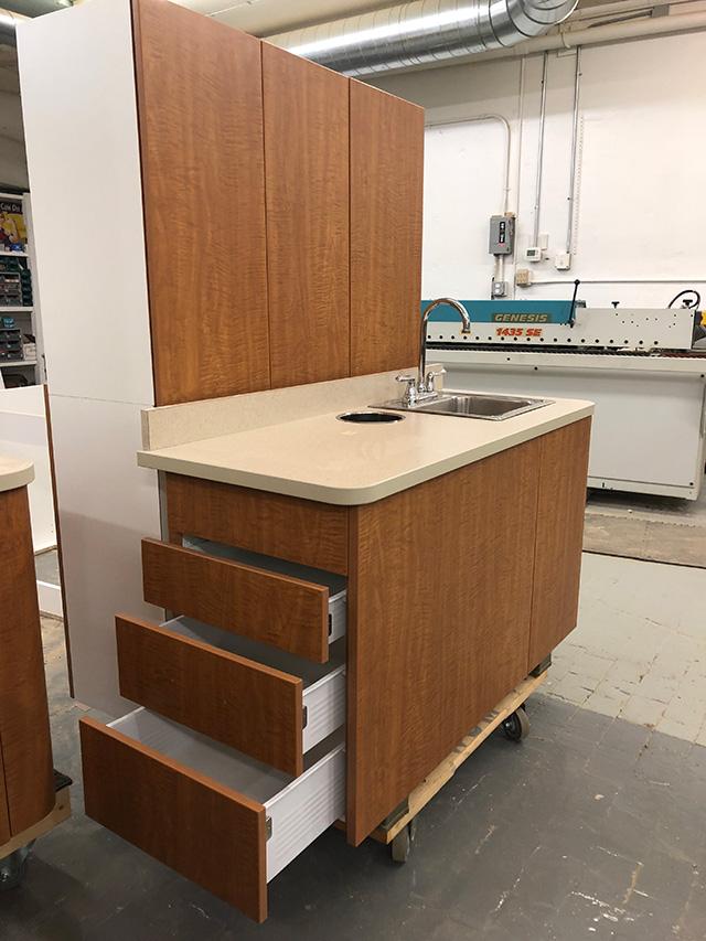 Custom cabinetry - W J Miller Builders