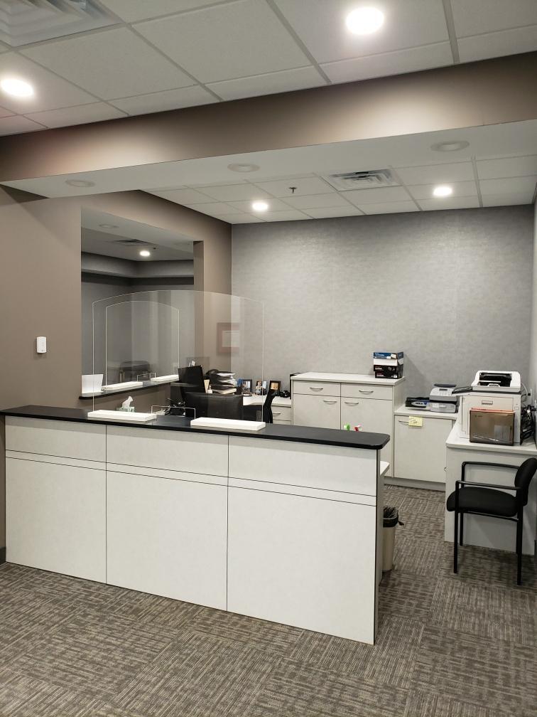 Chagring Highlands Renovation - Front Desk - W J Miller Builders