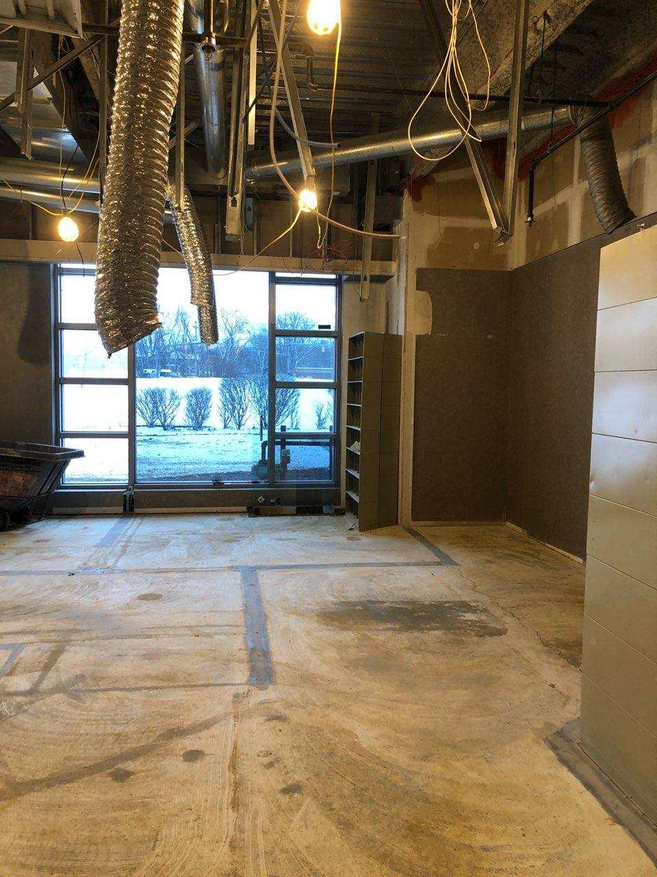 Before office renovation - W. J. Miller Builders
