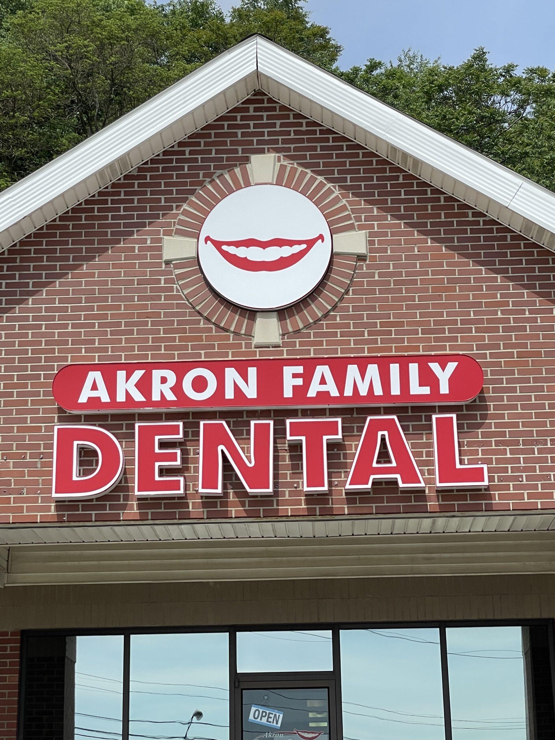 Akron Family Dental, Front view